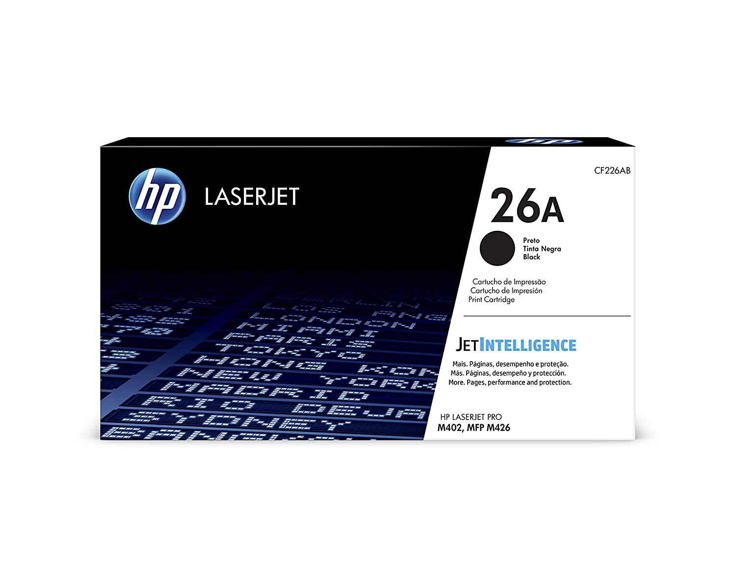 HP 26A (CF226A) Black Toner Cartridge for HP LaserJet Pro M402 M426