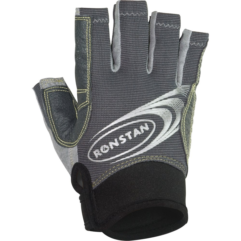 Ronstan Sticky Race Gloves w /カット指 B00R4JNEN0 X-Small|グレー グレー X-Small