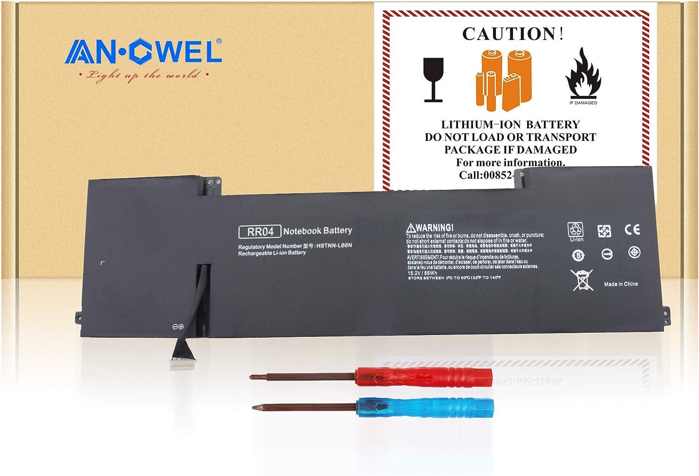 Angwel RR04 RR04XL Laptop Battery for HP Omen 15 Omen 15t 778951-421 HSTNN-LB6N[15.2V 58WH]