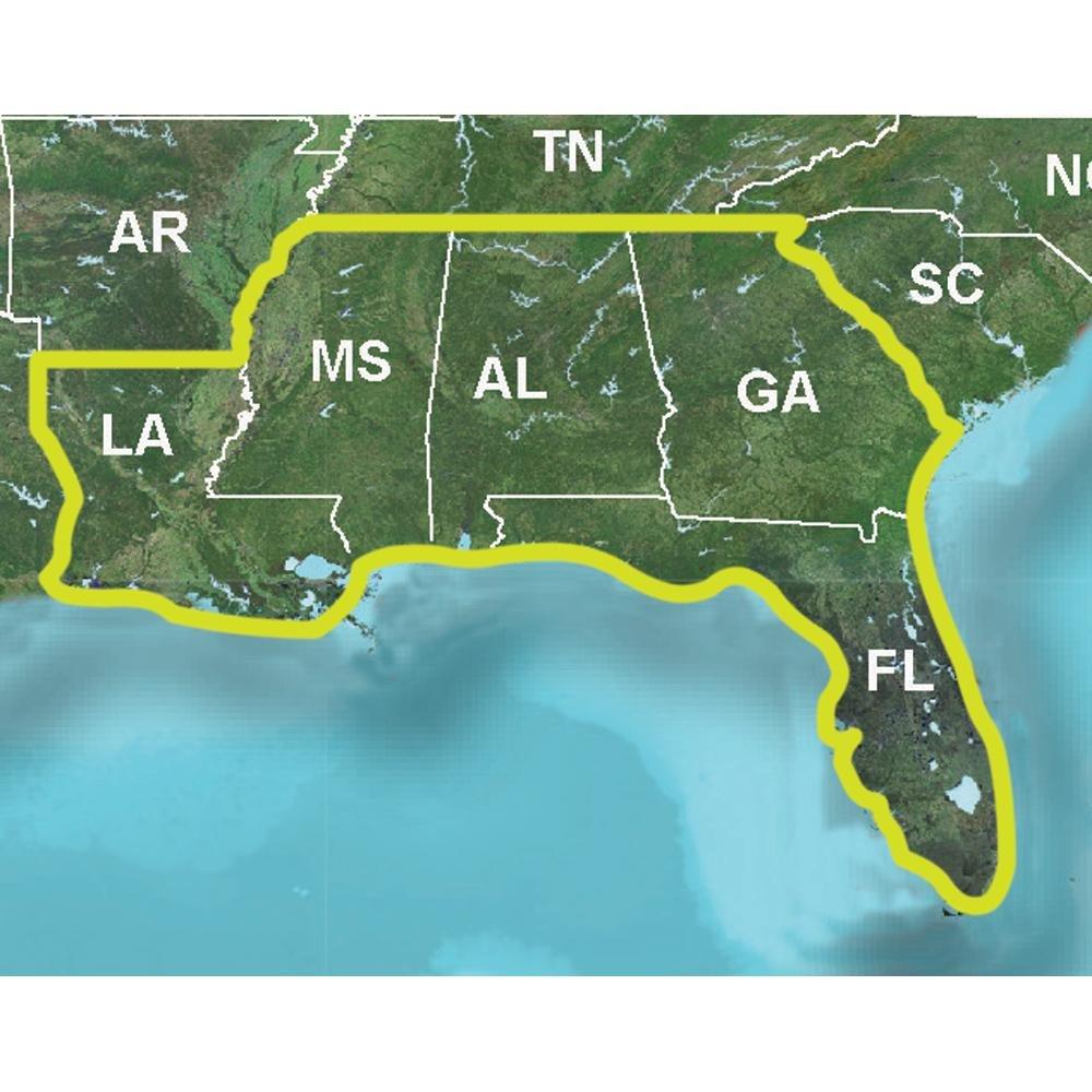 Amazoncom Topo US K Southeast Cell Phones Accessories - Georgia map garmin