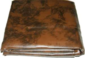 Black and Brown Available GSE Games /& Sports 7-Foot Heavy Duty Leatherette Billiard Table Dust Cover Pool Table Cover