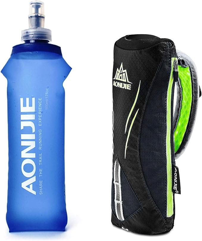 Piu Miglia Sports Drinks Water Bottle Blue 1000ml Hand Grips Cycling Gym Running