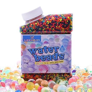 0ada0ab63 Heegay Perlas de Agua, 50,000 pcs Perlas de Agua de Gel para los Juegos de