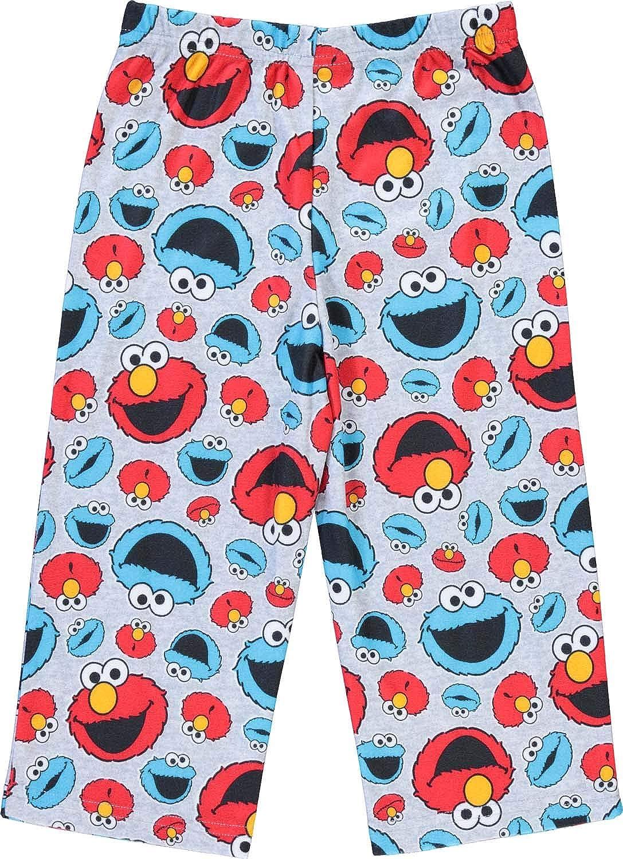 2-Piece Long Sleeve Pajama Set Sesame Street Boys Pajamas Set