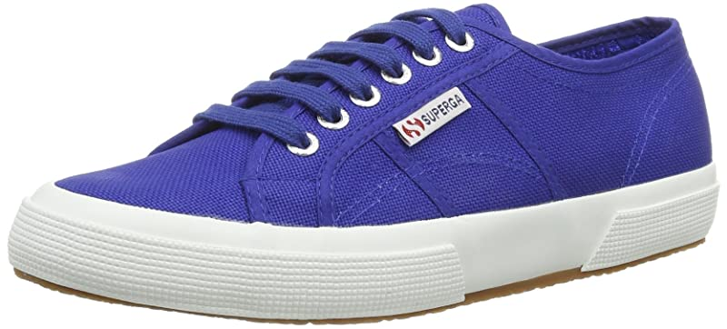 Superga 2750 Cotu Classic Sneakers Low-Top Unisex Damen Herren Blau (Intense Blue)