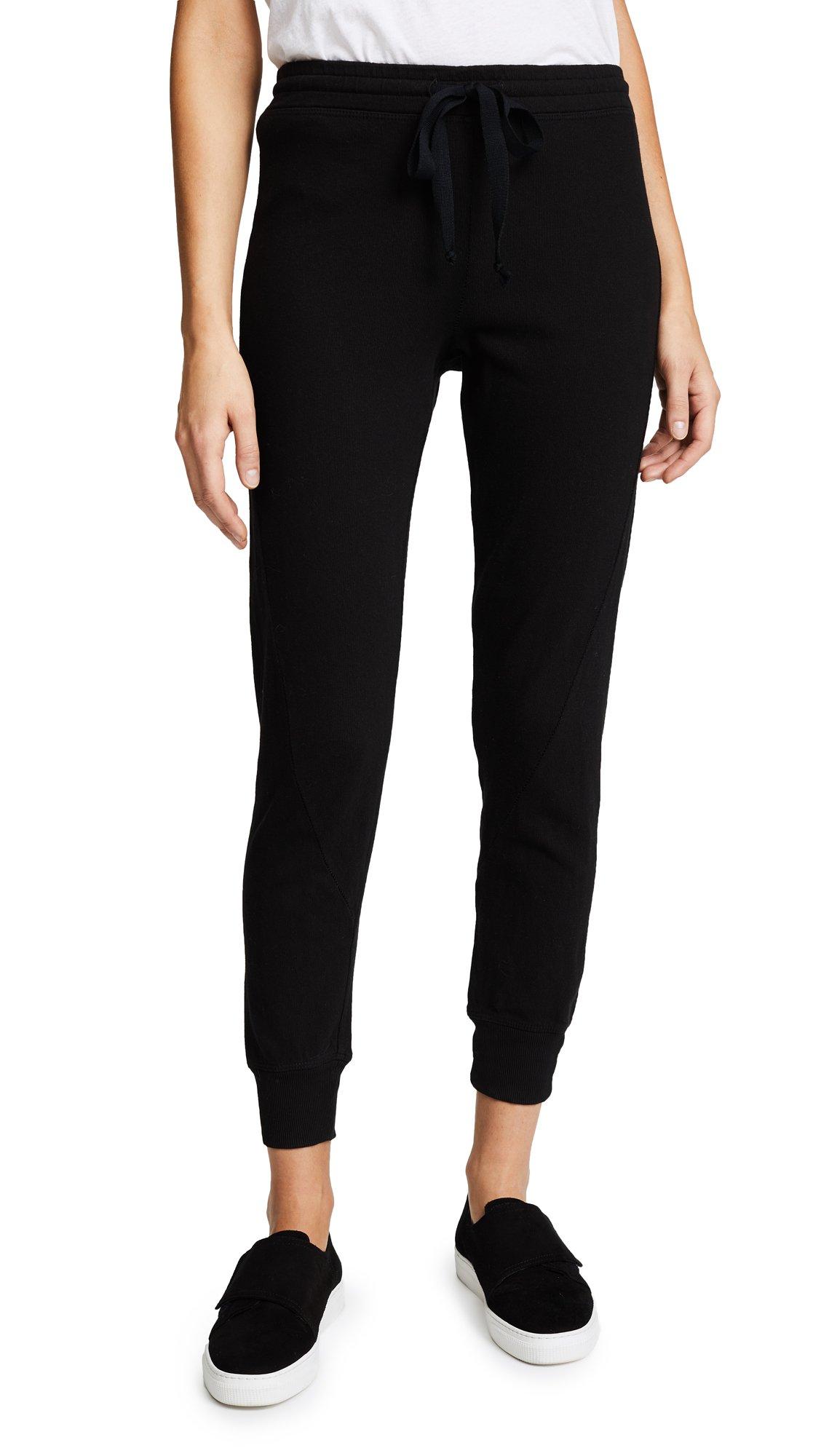 Wilt Women's Twist Shrunken Sweatpants, Black, Large by Wilt