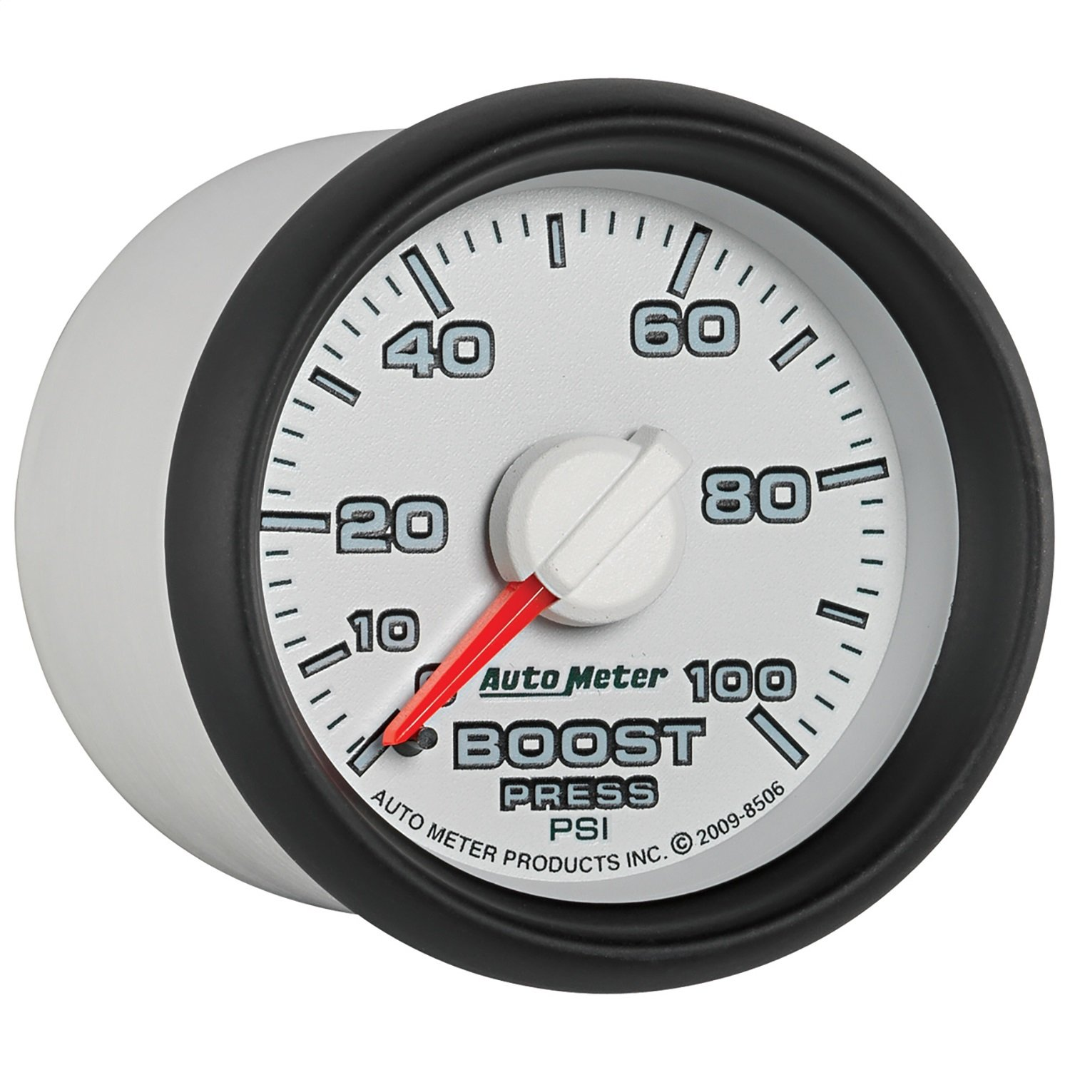 Auto Meter 8506 Factory Match 2-1/16' 0-100 PSI Mechanical Boost Gauge for Dodge
