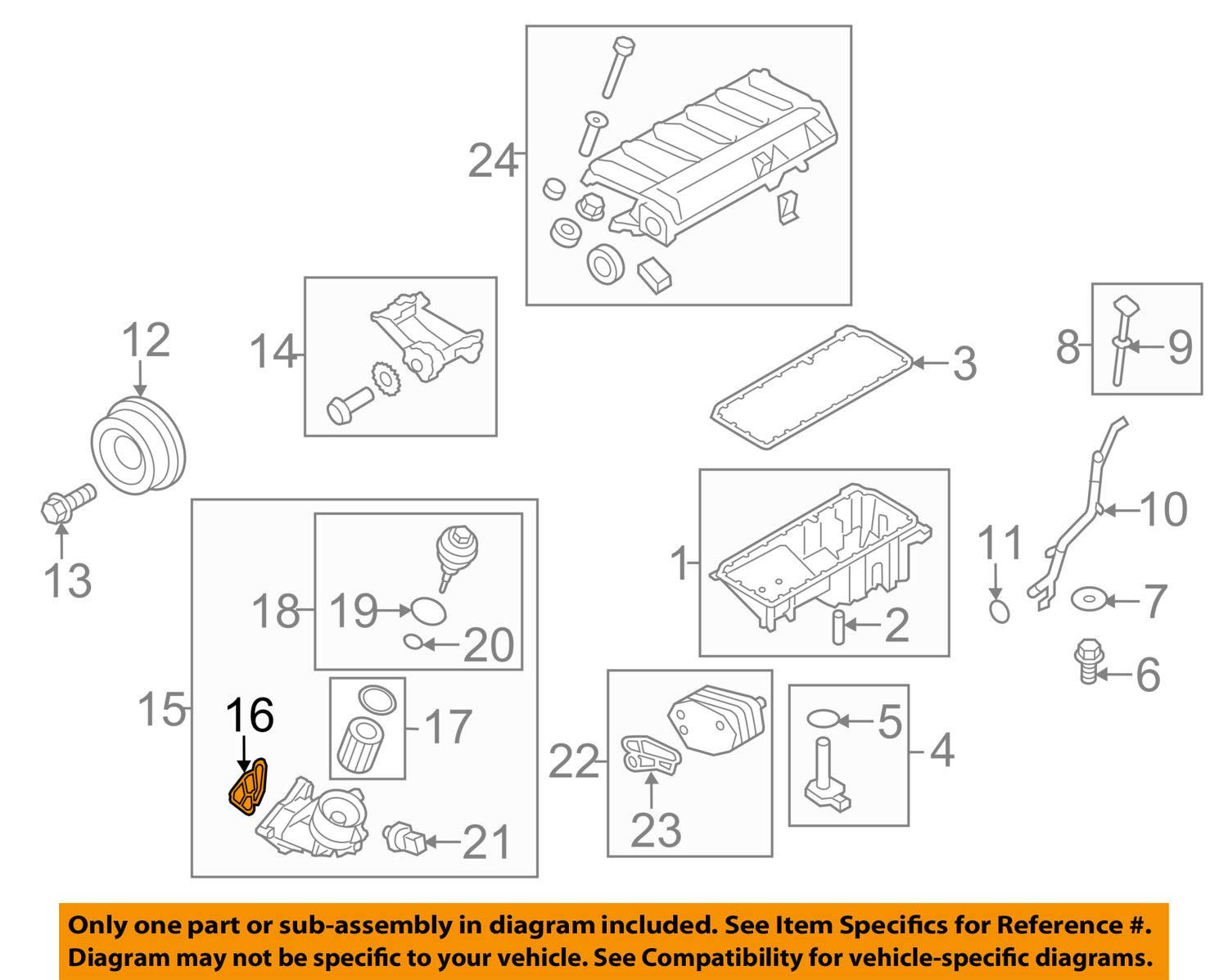 amazon com bmw 11 42 7 788 455, engine oil filter adapter L6 Engine Diagram jeep chrysler oem 97 01 cherokee 4 0l