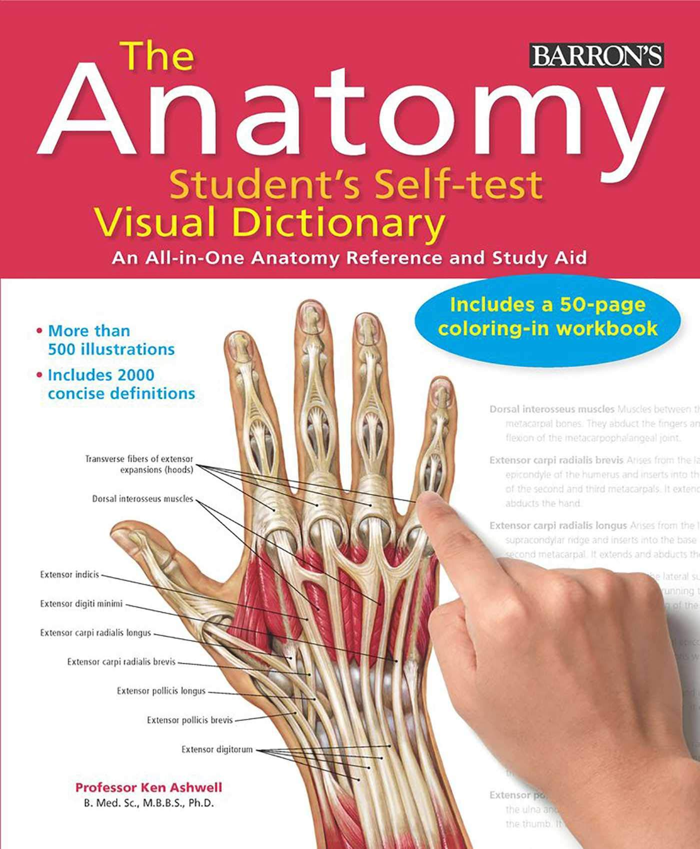 Anatomy Students Self Test Visual Dictionary An All In One Anatomy