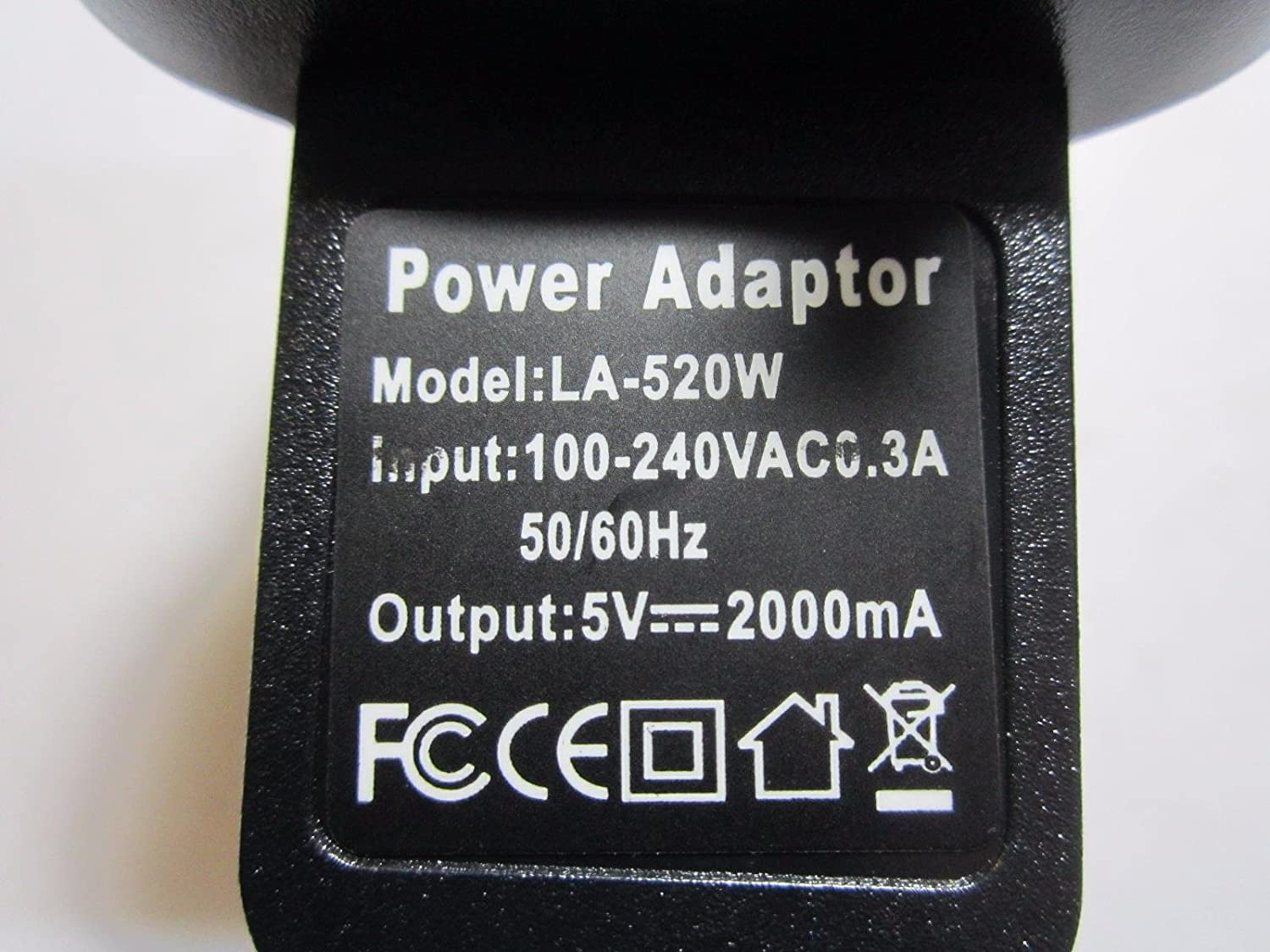 5V 2A Charger AC-DC Adaptor Power Supply LA-520W for Tabtronics TT-05 Tablet PC