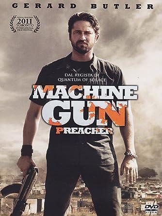 Amazon Com Machine Gun Preacher Dvd Italian Import Gerard Butler