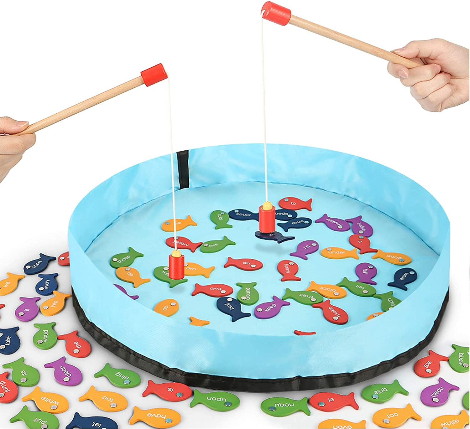 Sight Words Fishing Game