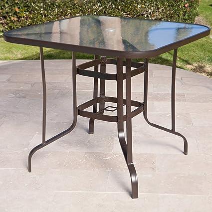 Coral Coast Del Rey Balcony-Height Outdoor Dining Table - Amazon.com : Coral Coast Del Rey Balcony-Height Outdoor Dining Table