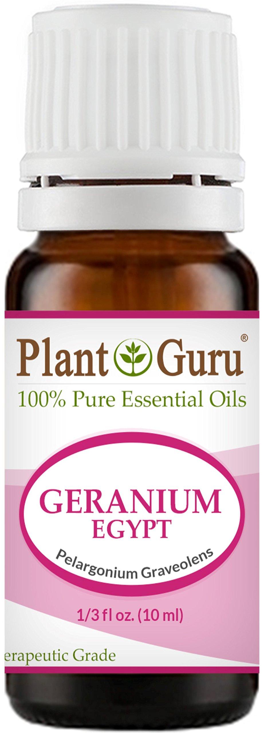 Geranium Egypt Essential Oil 10 ml. 100% Pure Undiluted Therapeutic Grade.
