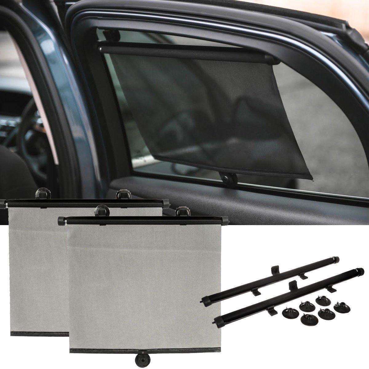 Onemoret 2/x auto tendine parasole auto tenda a rullo schermo protezione bambini