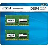 CFD販売 ノートPC用メモリ PC4-19200(DDR4-2400) 16GBx2枚 260pin (無期限保証)(Crucial by Micron) W4N2400CM-16G