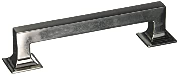 Hickory Hardware P3012 14 Studio Collection Cabinet Pull, 5.3937 Inch,  Bright Nickel