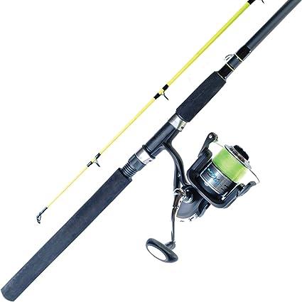 6 Feet Abu Garcia Ike Dude Fishing Rod and Spinning Reel Combo Medium Power 2Pc