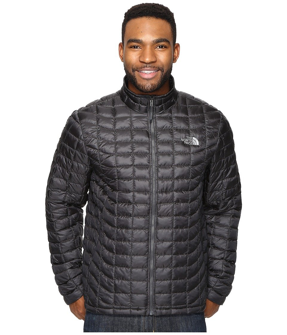 Asphalt Grey Baked Red The North Face ThermoBall Full Zip Jacket Men's