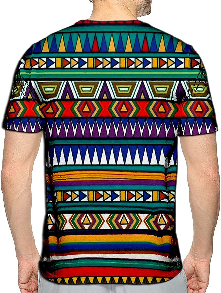3D Printed T-Shirts New York Global Flat Colors Layered Short Sleeve Tops Tees