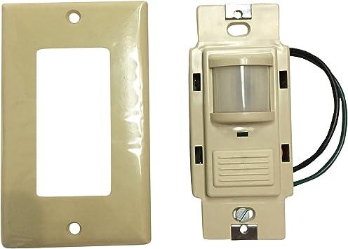 Sensor Interruptor Lithonia wsd PDT P pasivo doble tecnología Dual relé vacantes Sensor de movimiento pared Swit: Amazon.es: Bricolaje y herramientas