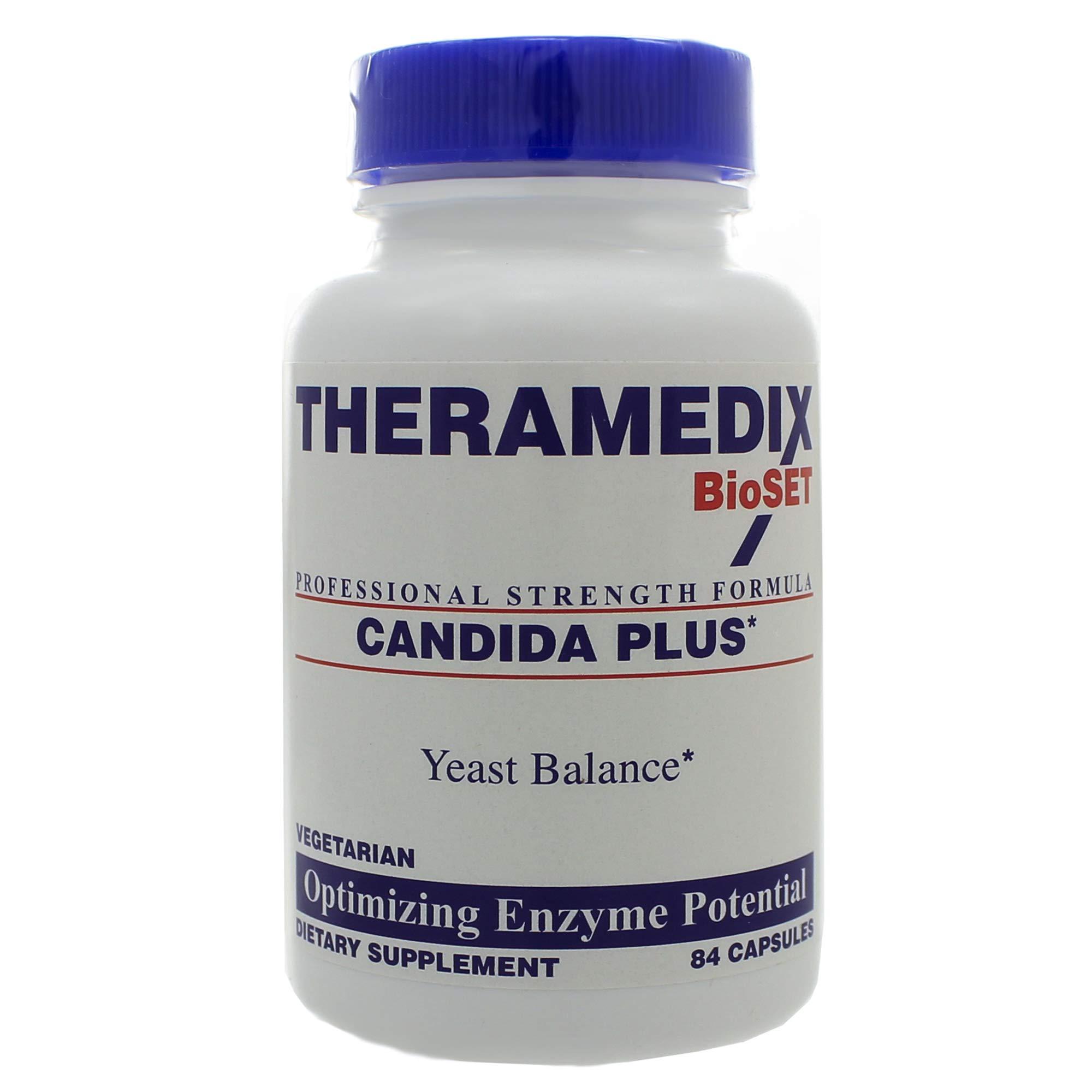 Candida Plus 84 Capsules by Theramedix BioSET