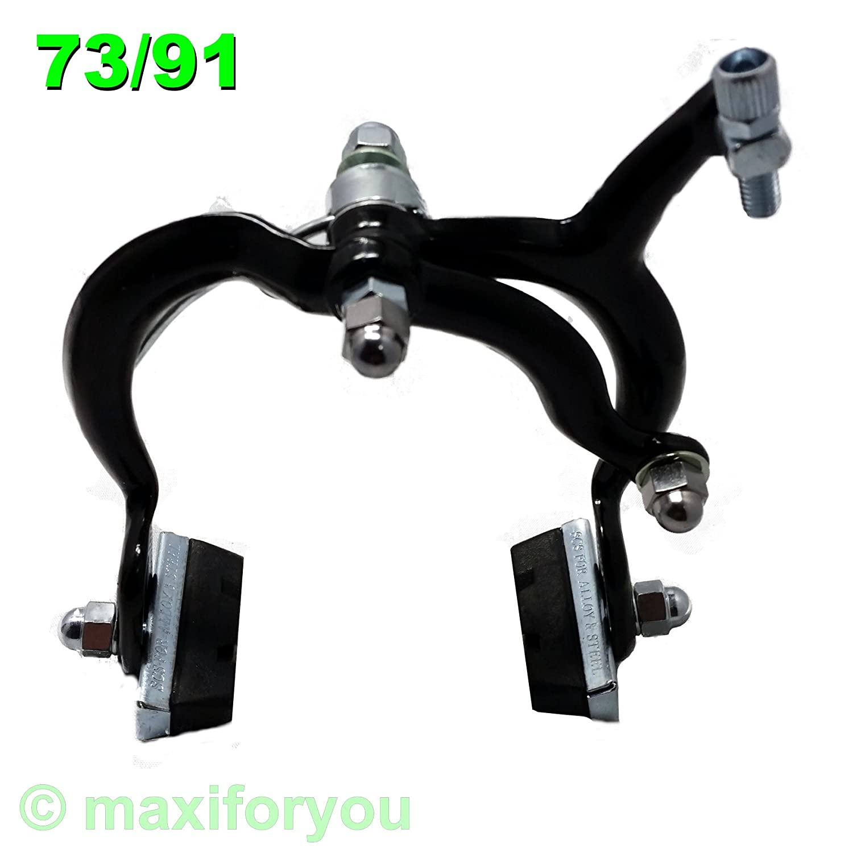 01110106 Fahrrad Alu Felgenbremse Bremsen VR//HR Einpunktsystem Schwarz//Silber