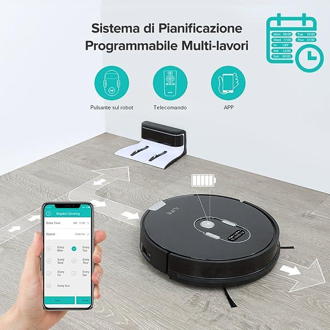 iLife A7 Robot aspirador inteligente (Limpieza Programmata, con control APP: Amazon.es: Hogar