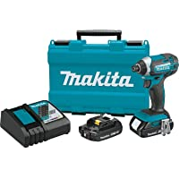 Deals on Makita XDT11R 18V  Li-Ion Cordless Impact Driver w/2 Batteries
