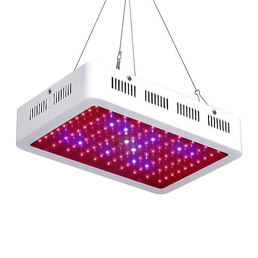 Lampada Da Coltivazione GMYLE LED: Lampada UV IR Da 600W A Spettro Completo  Per La