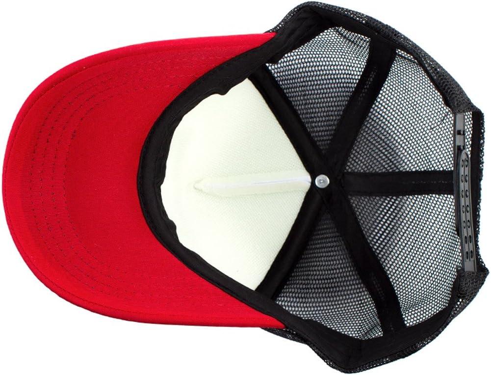 MB-LANHUA Cappellino Regolabile da Baseball a Cinque Punte con Stella a Maglia a Cinque Punte da Uomo Cappelli Regolabili Neri