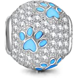 [Sponsored]NinaQueen Puppy Paw - 925 Sterling Silver Charms Nickel-free