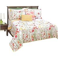 Queen Quilt 3 Piece Bedspread Coverlet Set