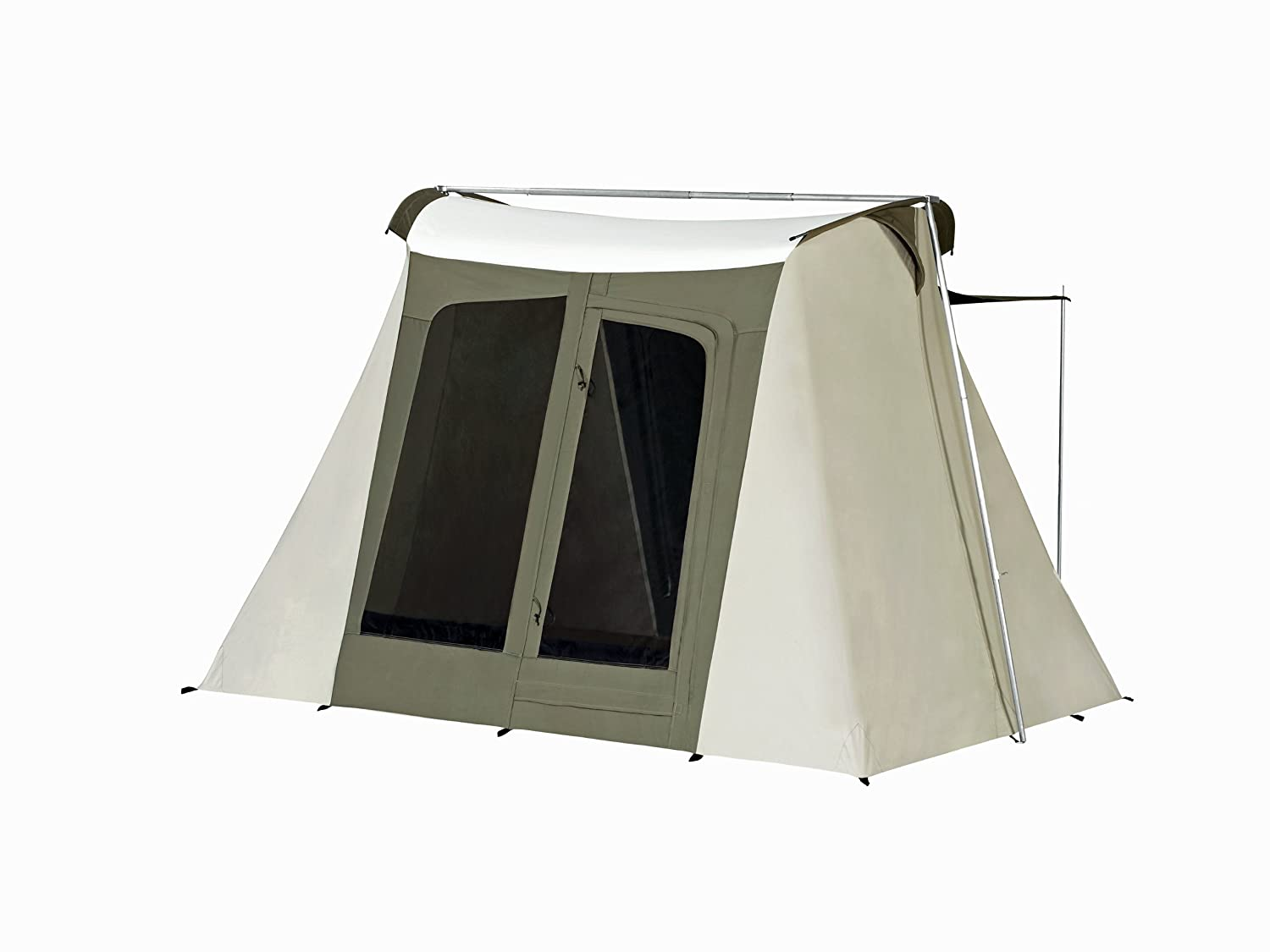 Amazon.com  Kodiak Canvas Flex-Bow 4-Person Canvas Tent Deluxe  Family Tents  Sports u0026 Outdoors  sc 1 st  Amazon.com & Amazon.com : Kodiak Canvas Flex-Bow 4-Person Canvas Tent Deluxe ...