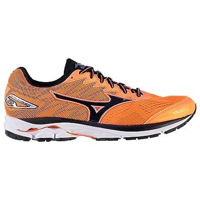 Mizuno Hombre Wave Rider 20 Running Zapatos Zapatillas Correr Entrenar Calzado Naranja/Negro 43: Amazon.es: Zapatos y complementos