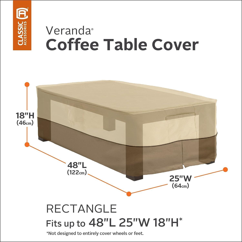 Amazon Classic Accessories Veranda Patio Coffee Table Cover