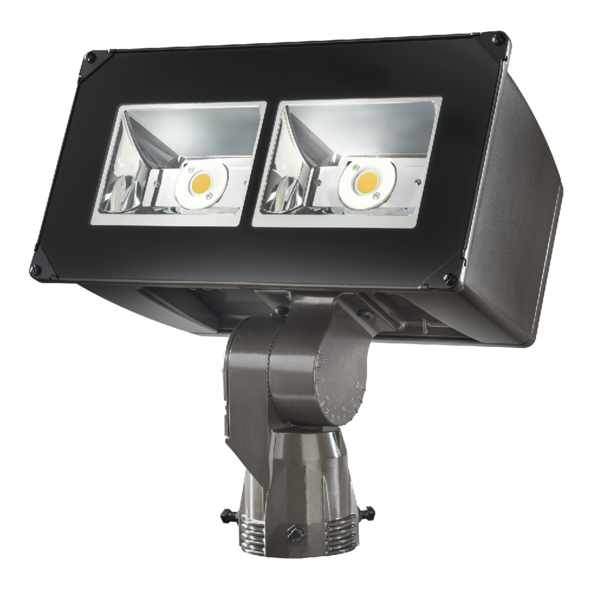 Lumark Nffld-L-C75-S Night Falcon 179W Carbon Outdoor Integrated LED Area Light with Slipfitter Mounting, Bronze
