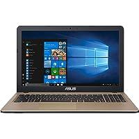 """ASUS X540UB-GQ491T - Ordenador portátil de 15.6""""HD (Intel Core i5-8250U, 8GB RAM, 1TB HDD, Nvidia MX110 de 2GB, Windows 10 Home) Negro Chocolate - Teclado QWERTY Español"""