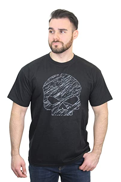 Harley-Davidson Men/'s Screamin/' Eagle Tribal Black Long Sleeve Shirt HARLMT0167