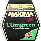 Maxima Fishing Line One Shot Spool, Chameleon, Ultragreen, 2-Pound/280-Yard