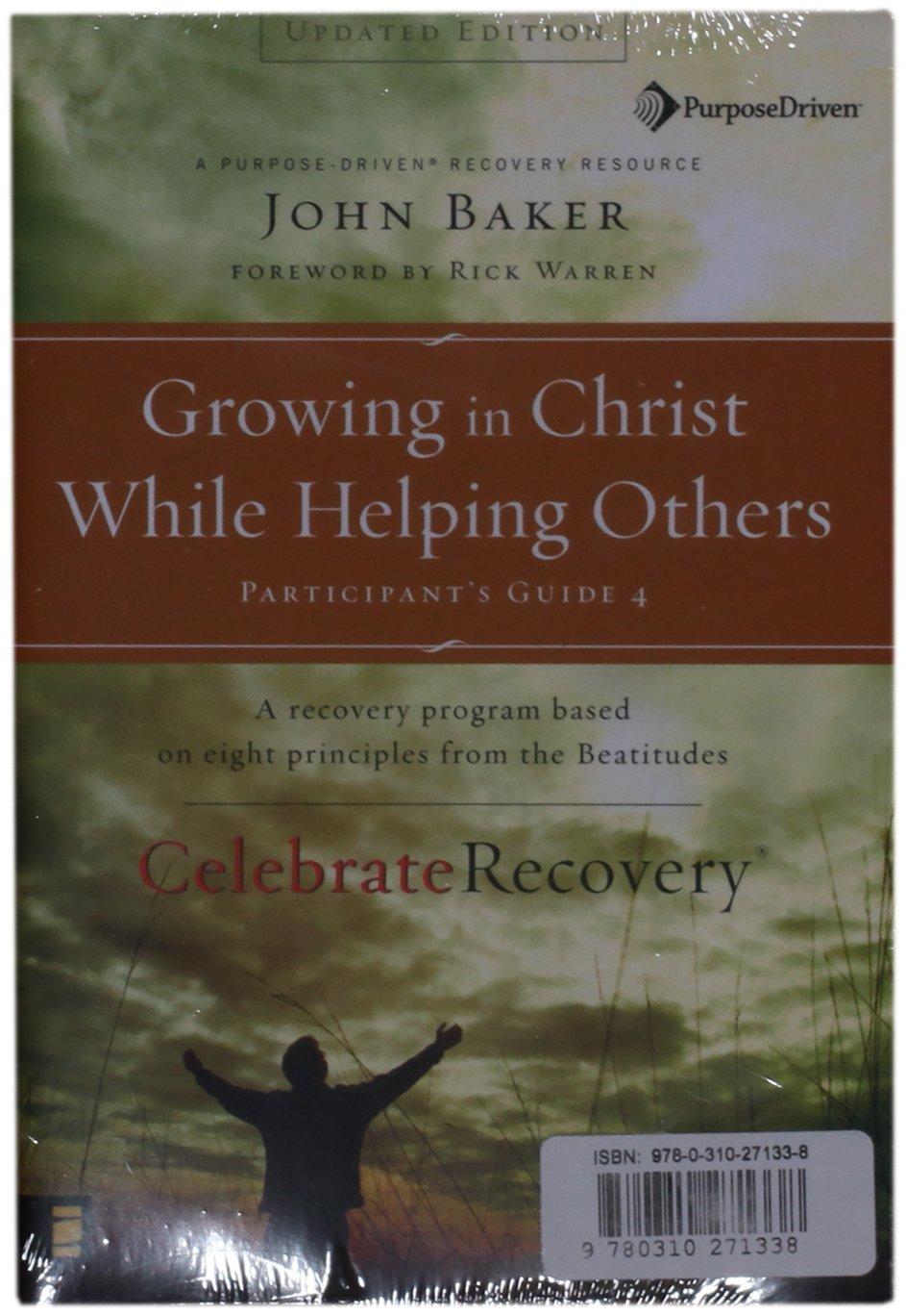 Workbooks celebrate recovery workbook : Celebrate Recovery Updated Participants Guide Set: John Baker ...