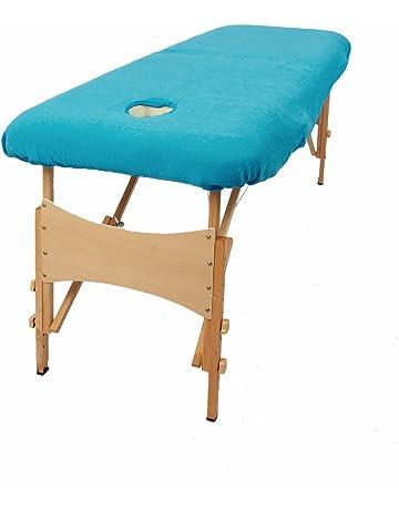 TowelsRus Aztex Tapa de sofá de masaje de valor clásico con agujero de cara Stretchy Polycotton. #2