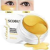 Maschera per gli occhi, Maschera d'occhio del collagene, Eye Mask, collagene rilievi dell'occhio, Crystal Gold Collagen Eye Mask, D'oro Eye Masks Anti-rughe ed anti-età