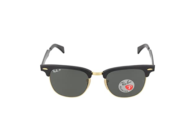 660a9c0a73 Ray-Ban 0RB3507 136 N551 Polarized Clubmaster Sunglasses