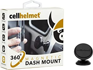 cellhelmet 360° Magnetic Dash Mount Cell Phone Holder for Car Compatible with iPhone 11 Pro Max Xs 8 7 6S Se Galaxy Note 10 Plus S10+ S20 S9 S8   As Seen on Shark Tank