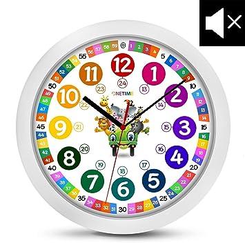 onetime orologio da parete per bambini (Ø) 30,5 cm orologio da ... - Orologio Da Parete Per Cucina
