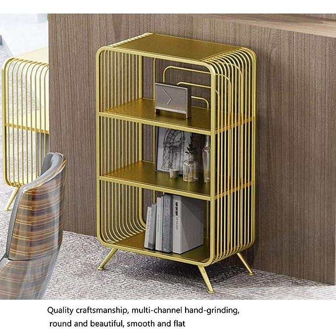 Amazon.com: Jcnfa-Shelves - Estantería de hierro para suelos ...