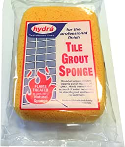 Grip Tight Tools Contractors Grade Tile Grout Sponge, 7.25-Inch