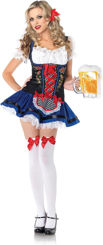 Leg Avenue - Disfraz de Heidi, talla UK 10-12 (8382905057): Amazon ...