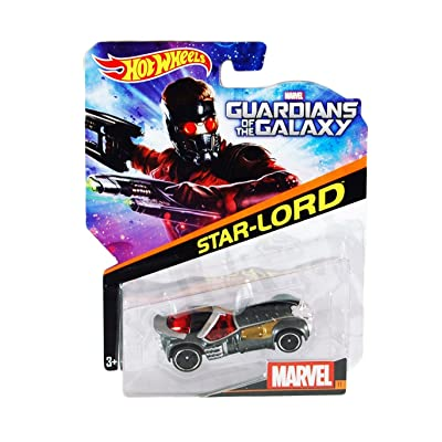 Hot Wheels Marvel Character Car Guardians of the Galaxy Star Lord #11 (First Version): Toys & Games